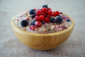 porridge petit déjeuner