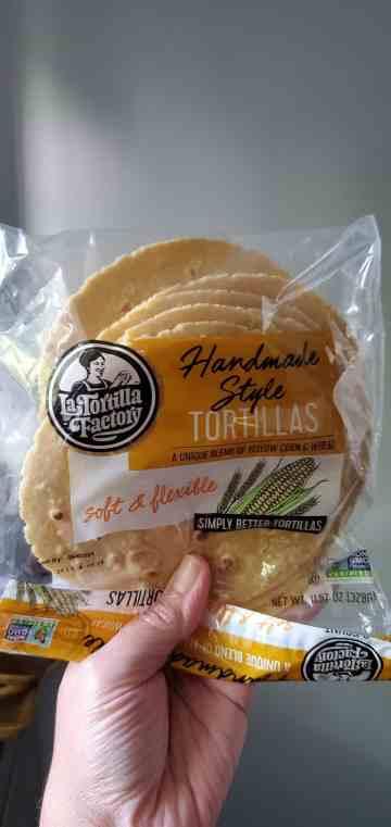 a picture of La Tortilla Factory corn tortillas