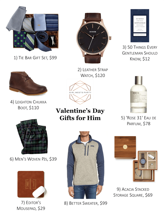 Valentine S Day Gift Guide For Her Him Girl Meets Party