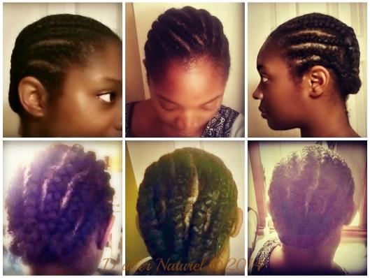 cornrow collage