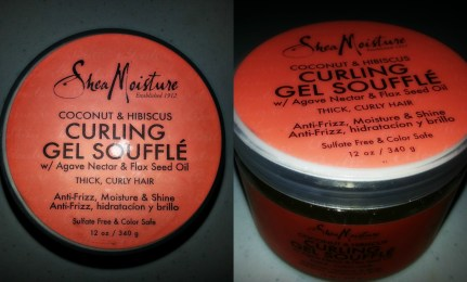 shea moisture curling gel souffle collage