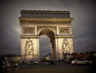 l'arc de triomphe dulled
