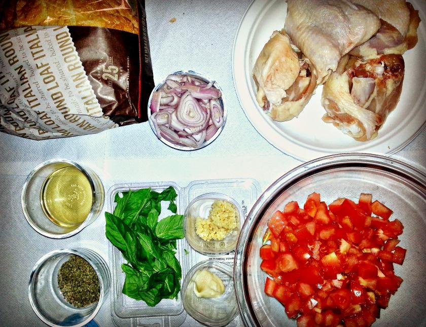 marjoram chicken ingredients