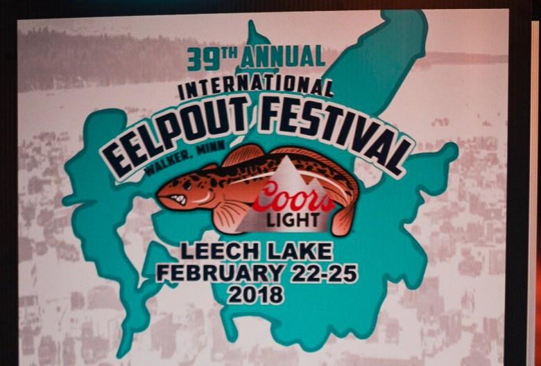 Eelpout Festival Sign