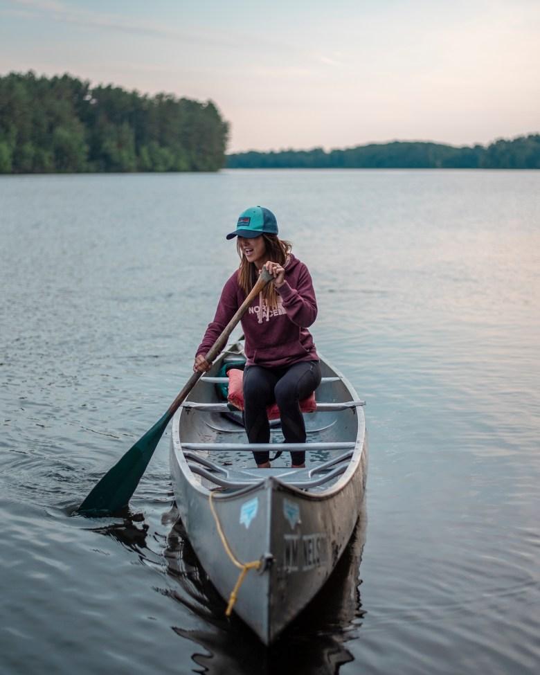 cabin fashion on a canoe