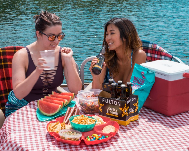 snack ideas for boating