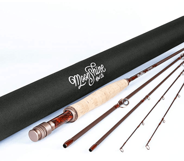 Red Moon Shine Fly Rod