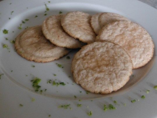 Lime cookies 006
