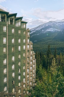 Rimrock Resort Hotel Banff Alberta - Girl