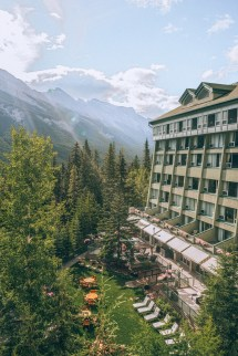 Rimrock Resort Hotel Banff Alberta - Girl