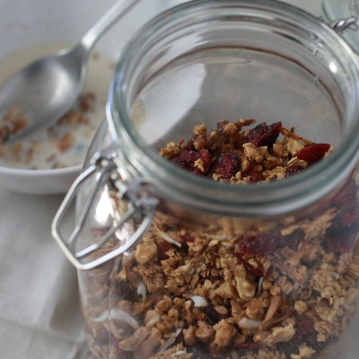 deb perlman's maple granola