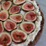 fig and almond tart