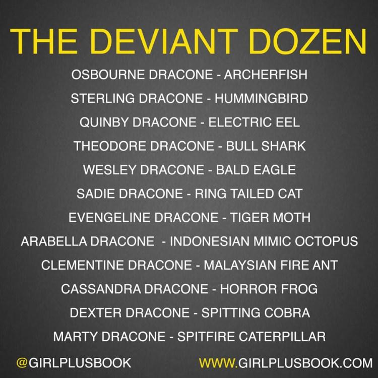 deviant-dozen