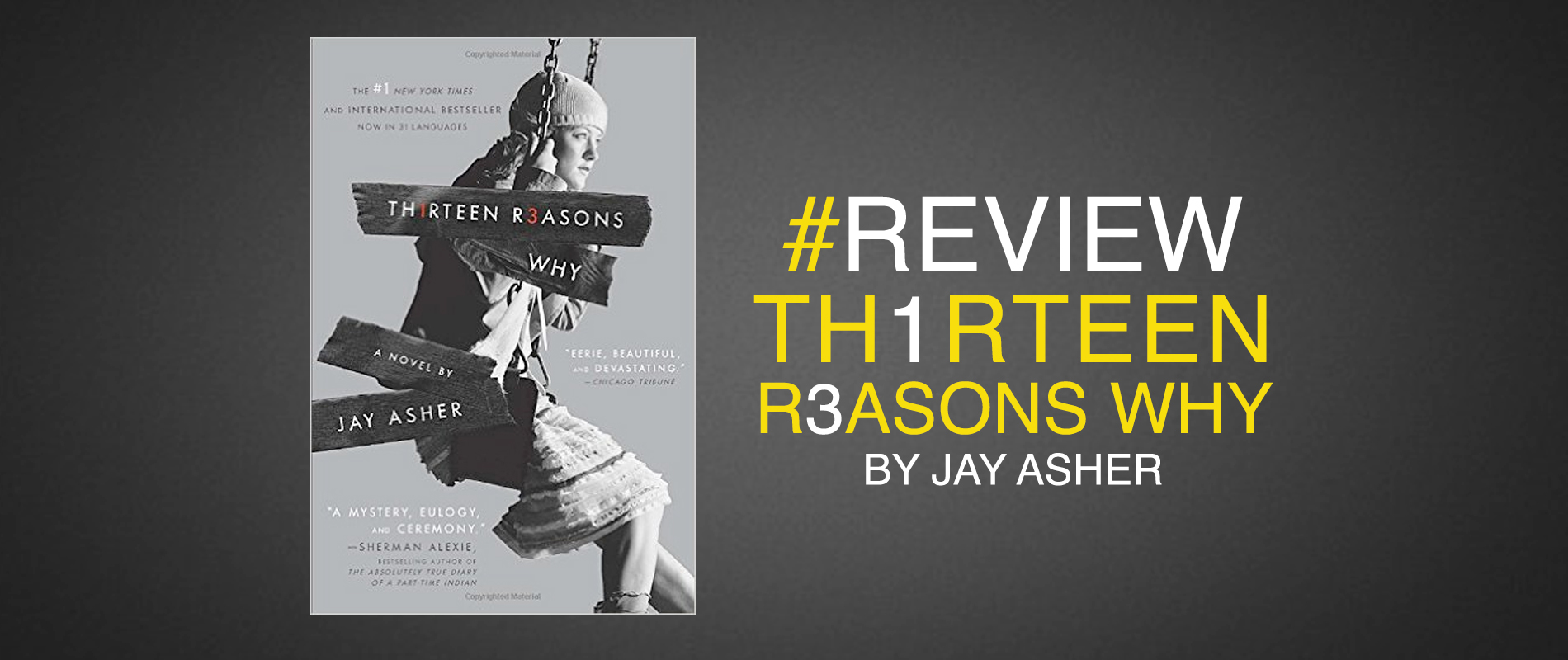 thirteen reasons why | book blog for young adults |girl plus book