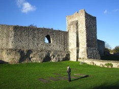 Castle Wall - Rochester
