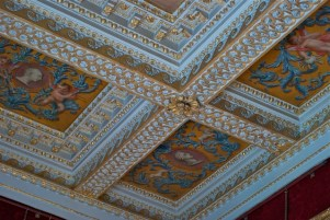 Red Room Ceiling - Chiswick House