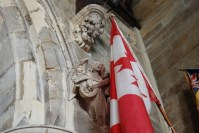 Canadian Flag - Holy Trinity Church - Hastings