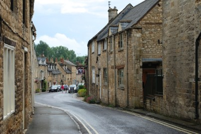 Side streets - Burford - The Cotswolds - England