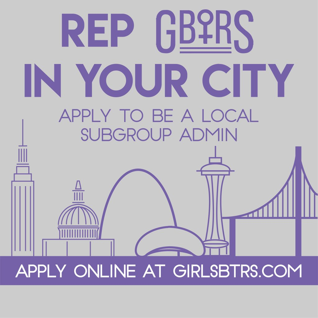 Represent Girls Behind the Rock Show in your area as a local chapter admin