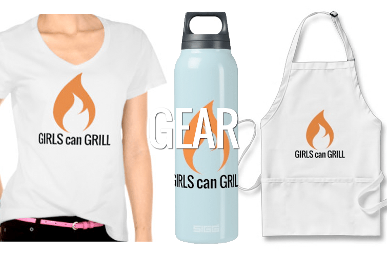 Girls Can Grill Gear