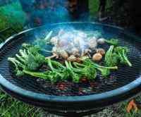 How to Make a Fire Pit Grill