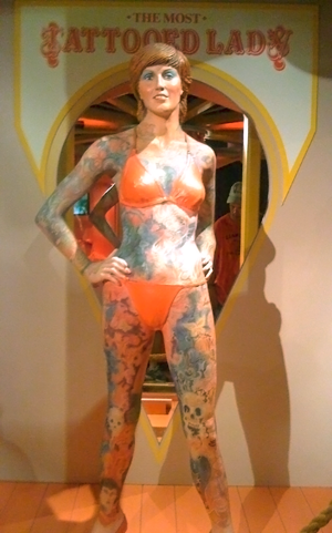 Most Tattooed Lady. Posted by: gretchen on August 6, 2008 in Random Musings