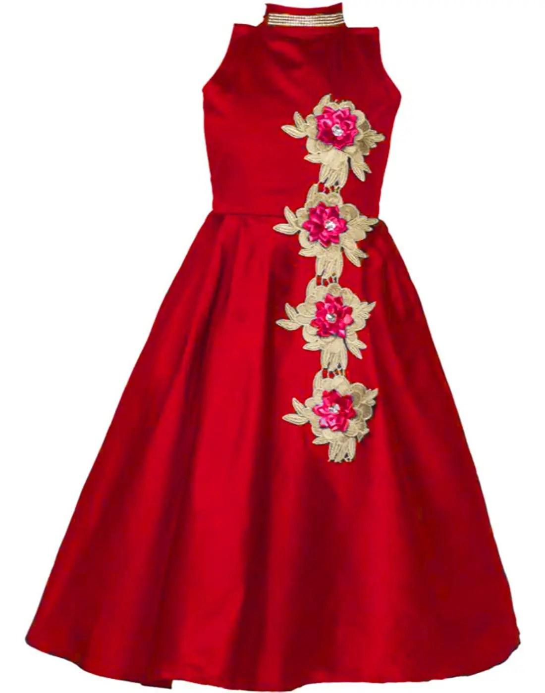Girls Wrap Maxi Dress