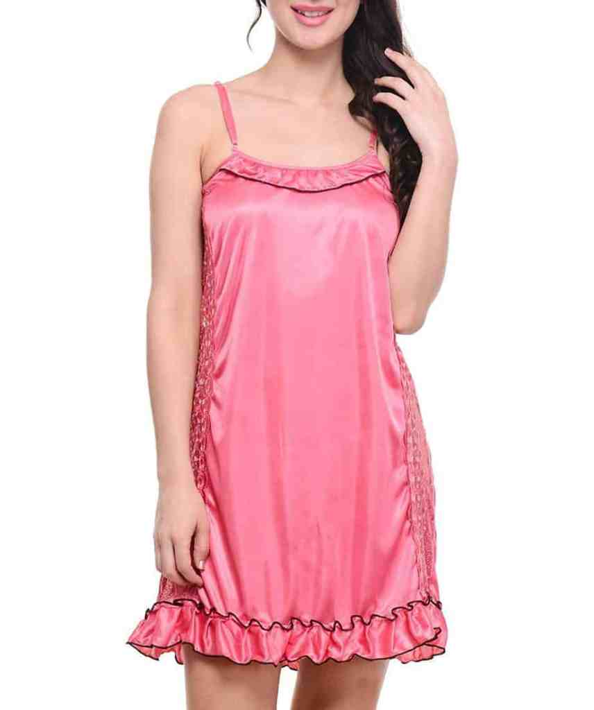 Klamotten Women's Satin Nighty