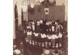 1949年5月24日 発団式の様子