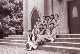 1958年6月 群馬県上級第1団 発団式