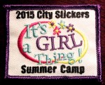 City Slickers Summer Camp Patch