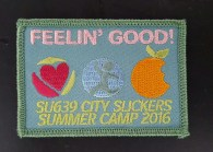 Our Feelin' Good patch from this year