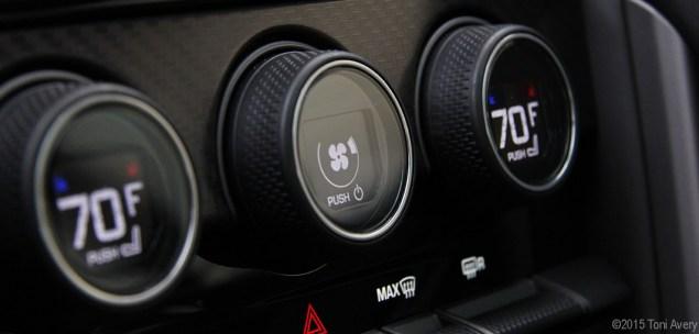 F-Type R dials