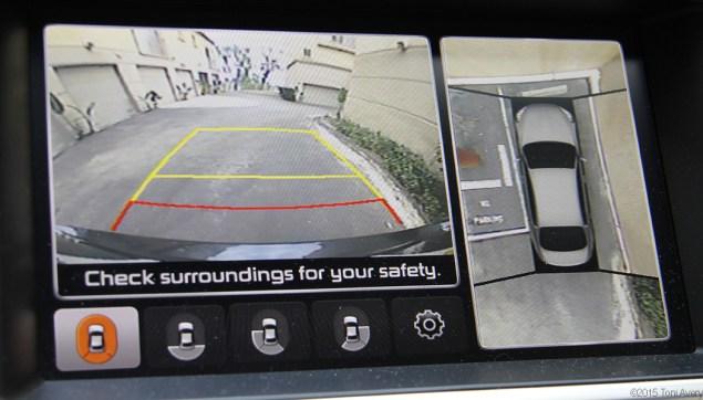 Kia k900 parking system