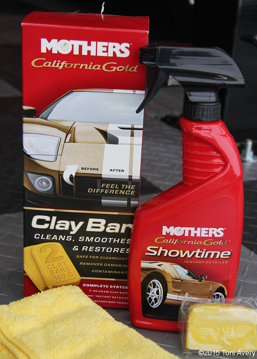 Mothers New Product Review Clay Bar Waxes And Polishes