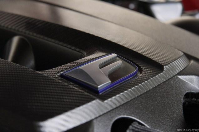2015 Lexus RC-F Coupe engine