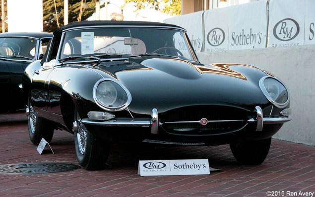 8-13-15 RM Auctions 1961 Jaguar E-Type Series 1 3.8 L OTS