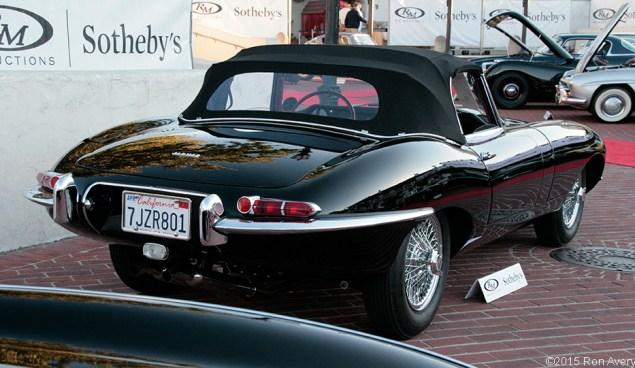 8-13-15 RM Auctions 1961 Jaguar E-Type Series 1 3.8 L OTS
