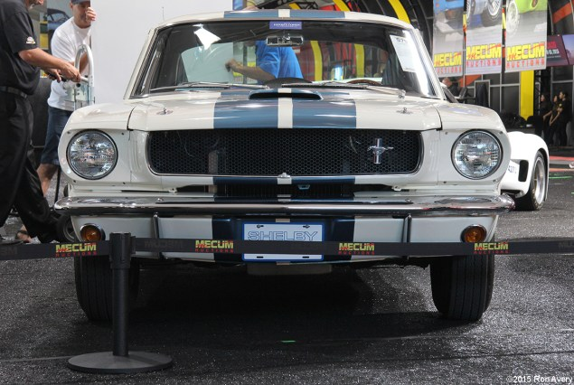 8-13-15 Mecum Auctions Monterey, CA 1965 Shelby GT350 Fastback