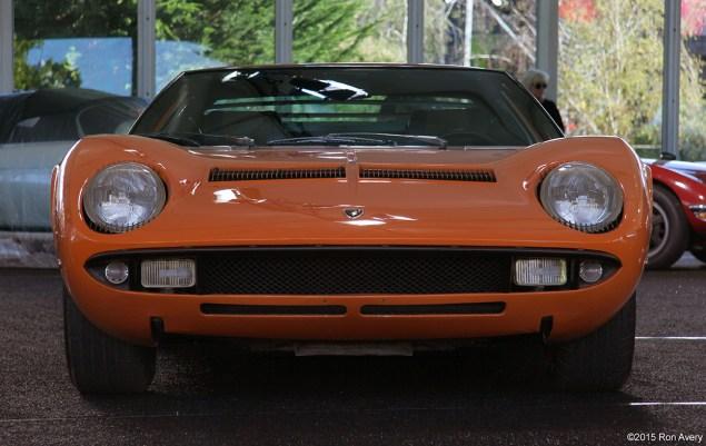 8-13-15 Mecum Auctions Monterey, CA 1969 Lamborghini Miura P400 S