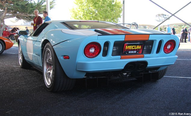 8-13-15 Mecum Auctions Monterey, CA 2006 Ford GT