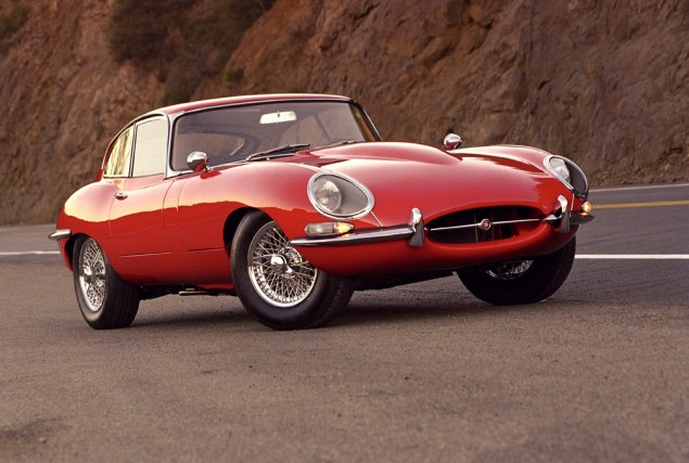 1965 Jaguar E-Type ©2005 Ron Avery