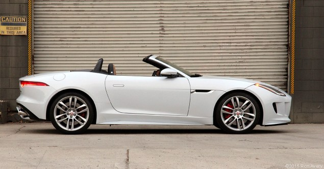 2016 Jaguar F-Type R Convertible AWD 1-30-16