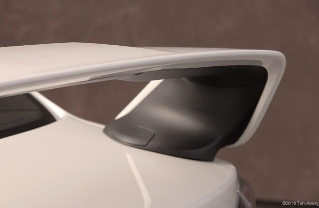 2015 Mitsubishi Lancer Evolution Final Edition rear wing