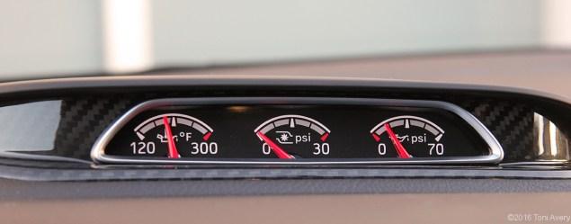 2016 Ford Focus ST dash gauges