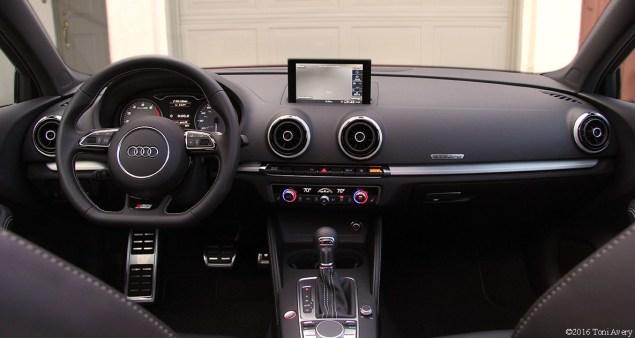 2016 Audi S3 interior
