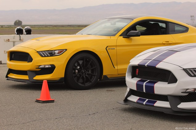 GT350 North American Track Tour lineup front end