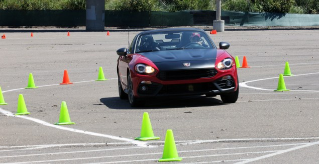 2017 Fiat 124 Spider Launch autocross 5