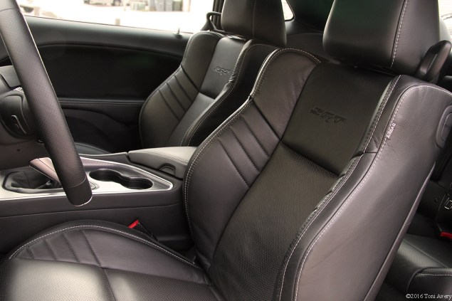 2016 Dodge Challenger SRT 392 front interior