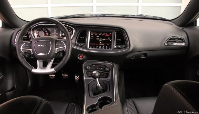 2016 Dodge Challenger SRT 392 interior